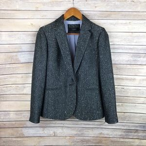 J. Crew Campbell Blazer in Sparkle Donegal Wool 4